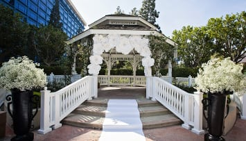 Wedding Gazebo at Disneyland Hotel