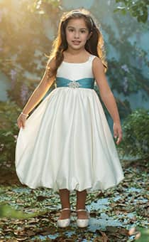 Royal Blossoms | Alfred Angelo Flower Girl Dresses | Disney's ...