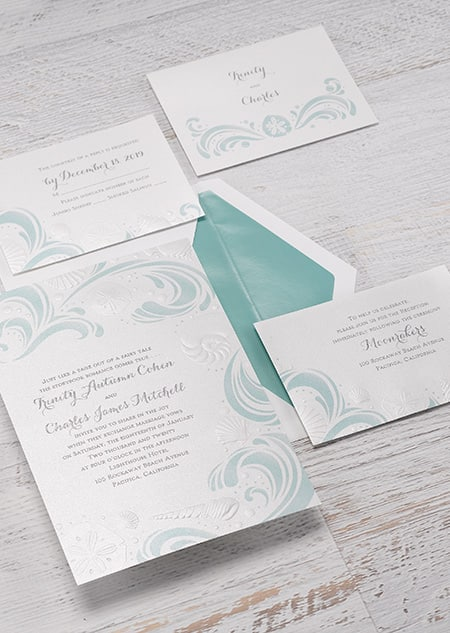 Ariel Ocean Wonders Invitations
