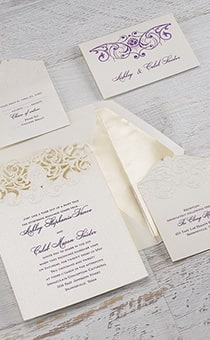 Tiana Beautiful Bayou Invitations