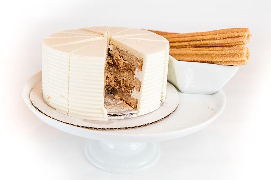 Disneyland Churro Wedding Cake