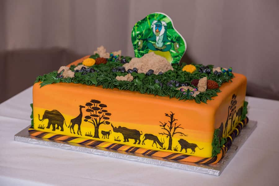 Wedding Cake Wednesday Lion King Grooms Cake Disney Weddings - Lion King Wedding Cake