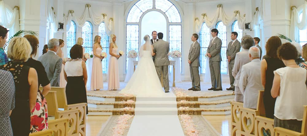 wedding locations disney s fairy tale weddings
