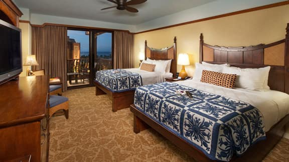 Rooms Amp Points Aulani Disney Vacation Club Villas Ko Olina Hawai I Disney Vacation Club