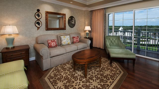 grand floridian 2 bedroom villa. 1 Bedroom Villa Rooms  Points The Villas at Disney s Grand Floridian Resort