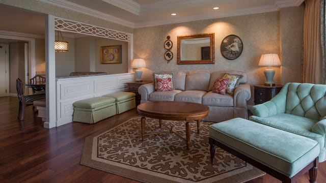 grand floridian 2 bedroom villa. 2 Bedroom Lock Off Villa Rooms  Points The Villas at Disney s Grand Floridian Resort