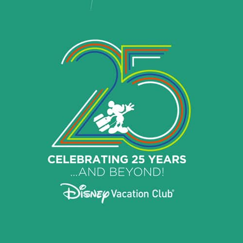 Disney Vacation Club 25th Anniversary